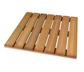 Terrastegel hardhout 50 x 50 cm