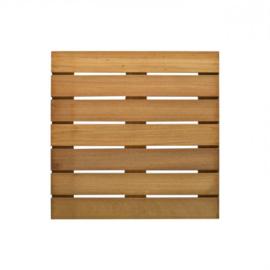 Terrastegel hardhout 40 x 40 cm (24 mm)