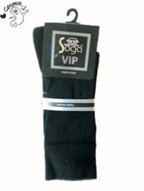 Merino dunne wollen sok met badstof voetbed S13