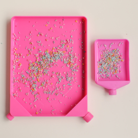 Sprinkles opvangbak met trechter mini + large