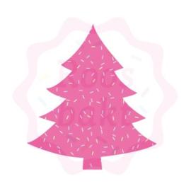 Kerstboom traditioneel uitsteker 7.5cm