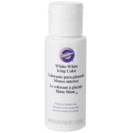 Wilton icing colour White