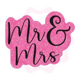 Mr&Mrs uitsteker 8cm