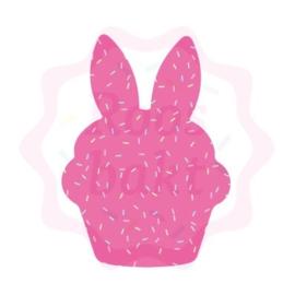 Cupcake bunny uitsteker 10cm
