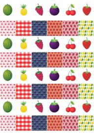 Fruit vierkantjes