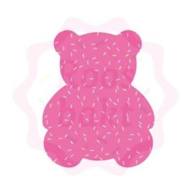 Teddybeer uitsteker 7.5cm