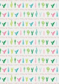 Cactussen op rij