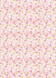 Hartjes Goud/Roze
