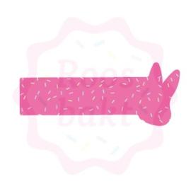 Cookiestick uitsteker Bunny 12,5cm