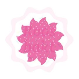 Zonnetje of bloemetjes uitsteker 6cm