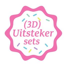 uitstekers voor 3D koeken