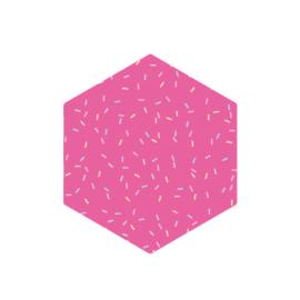 Hexagon uitsteker 7.5cm