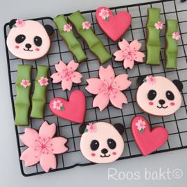 Panda uitsteker set (5 stuks)