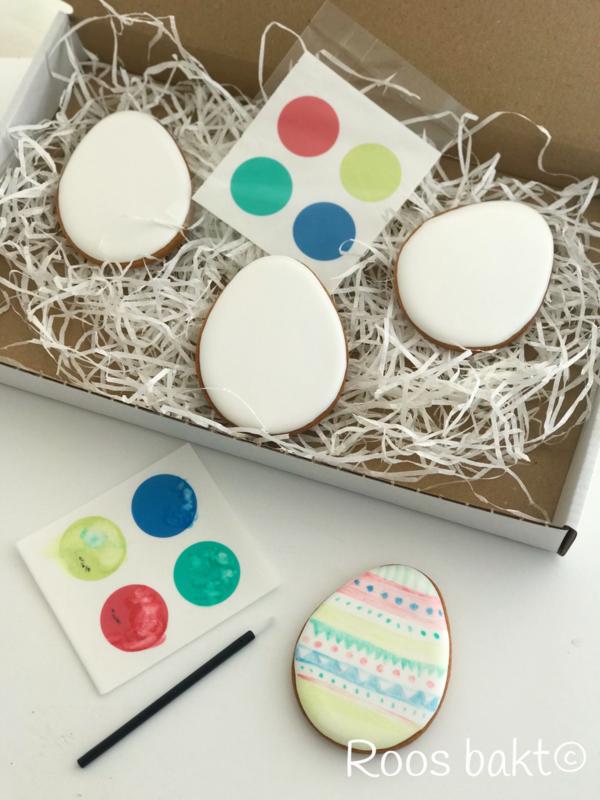 Paint Your Own paasei koekjes