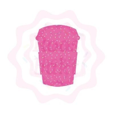 mini latte beker uitsteker 5cm
