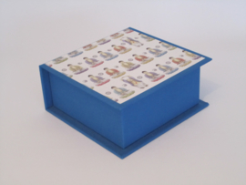 middenblauw met boeddha papier