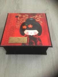 zwart met boeddha papier