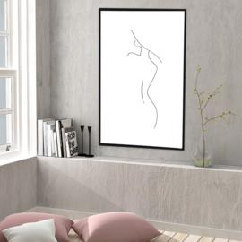 Fine Line Art - Lovely
