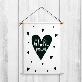 Textille Poster 'Girl Power'