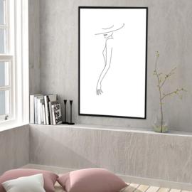 Fine Line Art - Pretty