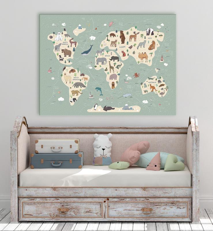 Animals World CANVAS