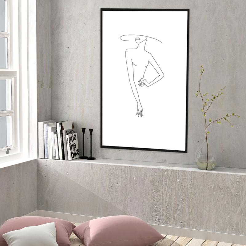 Fine Line Art  - Beauty
