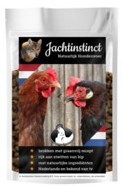 Jachtinstinct Dierenvoeding | Hondenbrokken Kip Graanvrij | 0% BTW