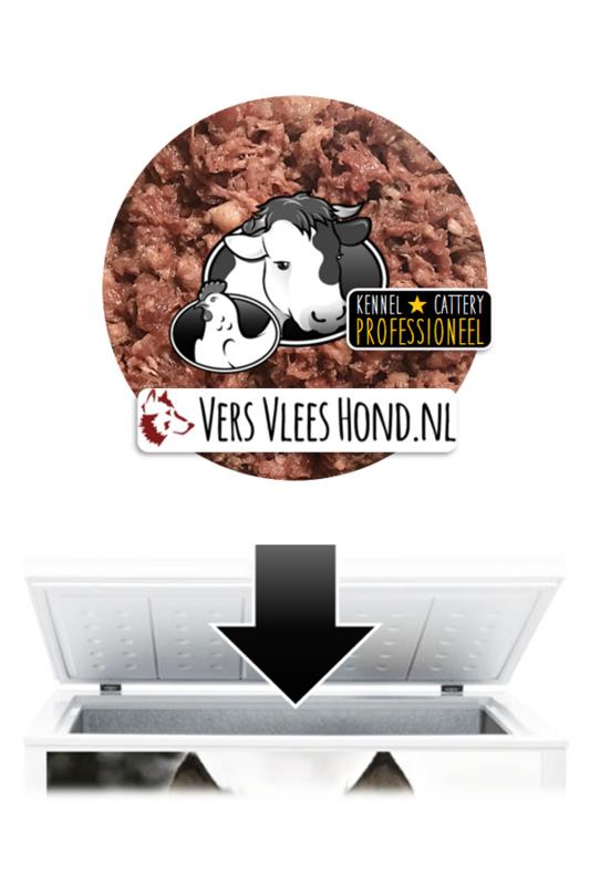 VersVleesHond.nl | Refill 80kg KVV 'Professioneel'