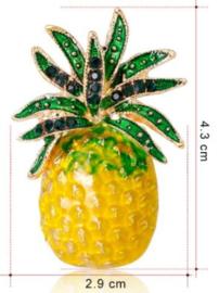 Gele broche (geel   fruit1)