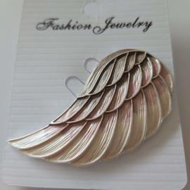 Kleuren combi magneet broche (brons | Angelwing)