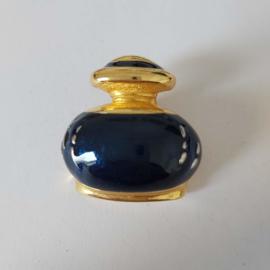 Blauwe broche (blauw | flesje 1)