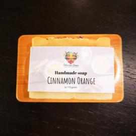 Vegan zeep 'Cinnamon & Orange'