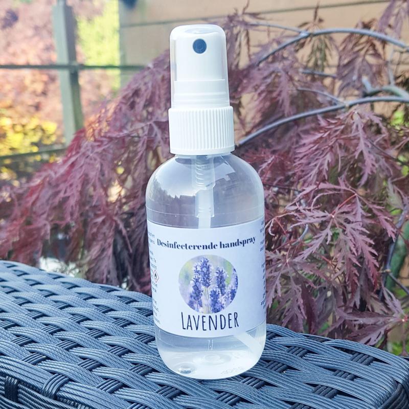 Desinfecterende handspray Lavender