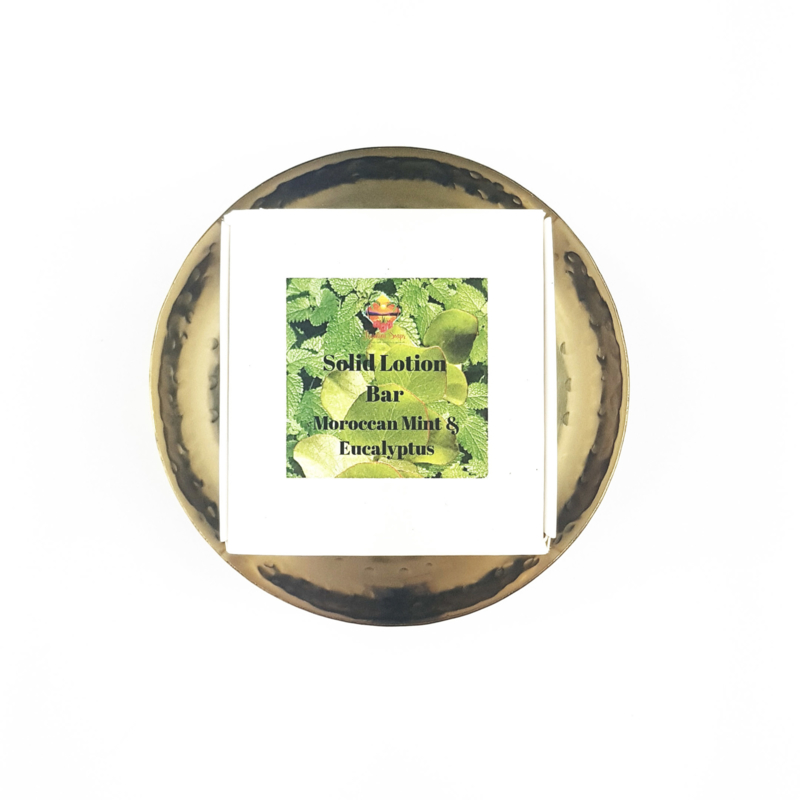Solid Lotion Bar Moroccan Mint & Eucalyptus
