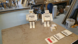 Workshop Robot timmeren door volwassenen voor kinderen