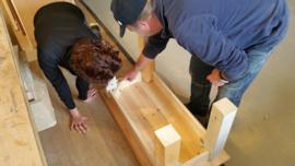 workshop houten tafels maken