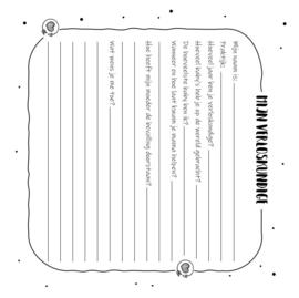 Mijn Kraambezoek Invulboek - Hardcover Wire-O (Oud Groen)