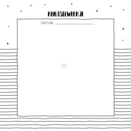 Baby's 1e jaar - Hardcover Wire-O (Oud Roze)