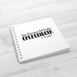 Van Dreumes tot Peuter Opgroeiboek - Hardcover Wire-O (Zwart/Wit)
