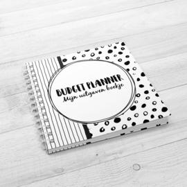 Mijn Budget Planner - Hardcover Wire-o (Zwart/Wit)