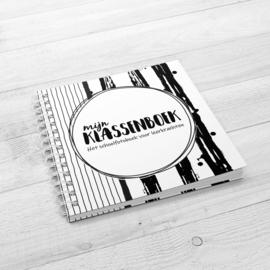 Mijn Klassenboek (Het schoolfotoboek voor leerkrachten) - Hardcover Wire-o (Zwart/Wit)