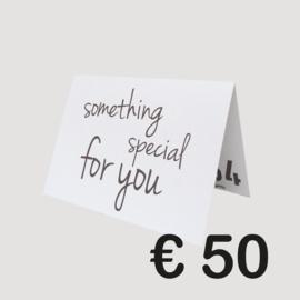 BLEND54 CADEAUBON '50 EURO'