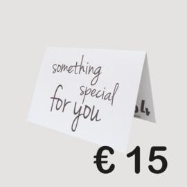 BLEND54 CADEAUBON '15 EURO'
