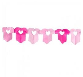 Babyshower | slinger | romper roze