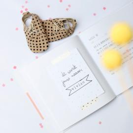 Zwangerschapsdagboek | groen of roze