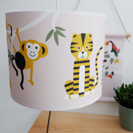 Lamp jungle roze