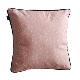 Kussen roze | triangles | 40 x 40 cm