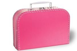 Koffertje fel roze