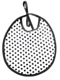 Slabbetje monochrome   dots