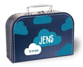 Koffertje wolken